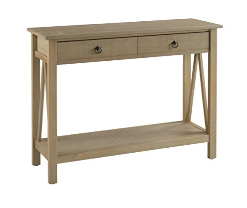 Rustic Occasional Tables (Linon Titian Rustic Gray Console Table)