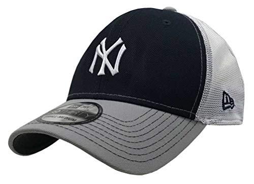 New Era 2019 39Thirty MLB New York Yankees Practice Piece Hat Cap Flex Fit (S/M) Navy/Gray