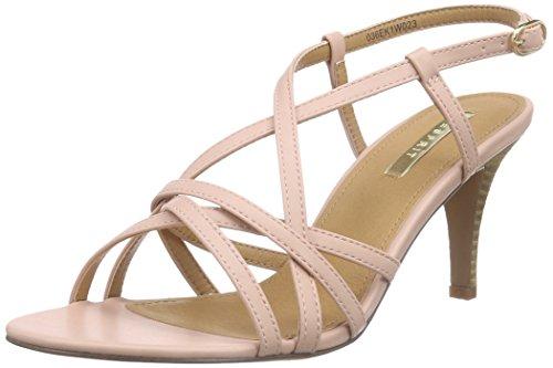 ESPRIT Dor Sandal, Damen Knöchelriemchen Sandalen, Pink (680 old pink), 39 EU