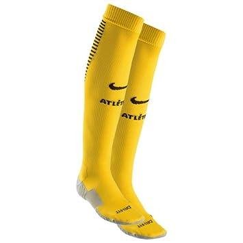 Nike ATM U NK Stad Sock HA Calcetines, Hombre, Amarillo (Varsity Maize/Midnight Navy/Black), S: Amazon.es: Deportes y aire libre