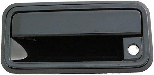4 Door New Driver (1988-1994 Chevrolet Silverado GMC Sierra Driver Front Outside Door Handle Black (with Keyhole) NEW 92-94 Suburban Yukon Blazer 15968163 GM1322102)