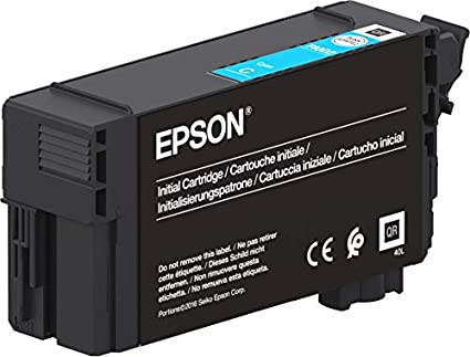 Epson Singlepack UltraChrome XD2 Cyan T40C240(26ml) - Cartucho de ...