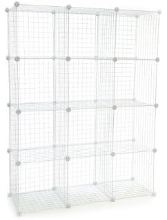 Amazon.com: Wire Cube Plastic Connector Set White: Garden & Outdoor