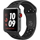 Apple Watch Nike+ Series 3 38mm (GPS + Cellular Unlocked, Space Gray Aluminum Case with Anthracite/Black Nike Sport Band) MQL62LL/A