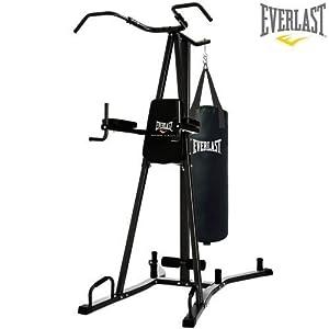 Everlast 4816B Pull & Dip Station Home Gym & Punch Bag