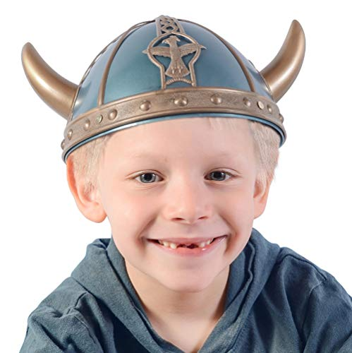 Funny Party Hats Viking Helmet Kids - Medieval Costume Acessories - Viking Warrior Hats ()
