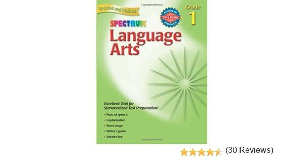 Language Arts, Grade 1 (Spectrum): Spectrum: 9780769681313: Amazon ...