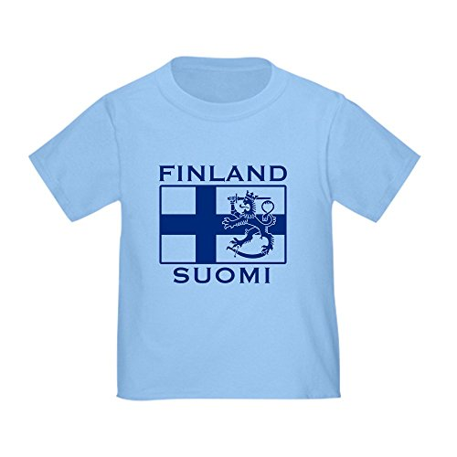 CafePress - Finland Suomi Flag Toddler T-Shirt - Cute Toddler T-Shirt, 100% Cotton Finland Flag T-shirt
