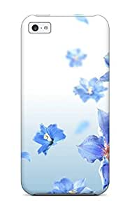 BayyKck Premium Protective Hard Case for iphone 6 plus 5.5- Nice Design - Happy Lilac Flowers