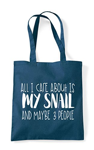 All Is I People Three My Bag Maybe Snail And Funny Petrol Themed About Tote Care Shopper Cute Animal HqHwBnR1tr