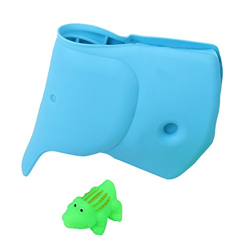 Bathtub Faucet Cover for Baby - Baby Bath Tub - Elephant Faucet Cover - Baby Safe Tub - Bath Spout Cover for Children Infant Baby Child Pet Toddler Bathing Kitchen Patio - Crocodile Gift