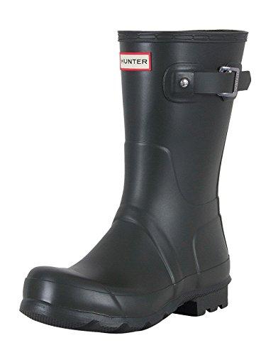 Hunter Mens Original Short Rain Boots Black 8 M