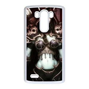 World of Warcraft LG G3 Cell Phone Case White Zebaj