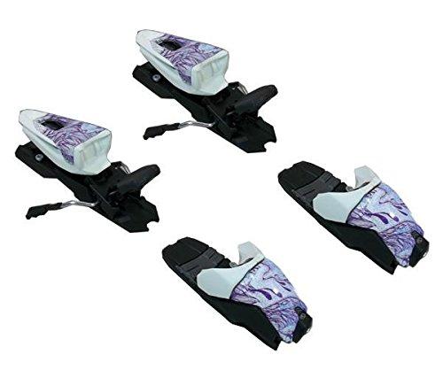 Marker M 10.0 Free Ten Ski Bindings for Alpine twin white purple 85-100mm