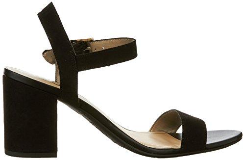 Sam Edelman Women's Ashton Heeled Sandal, Soft Nude Black