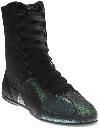 PUMA Women's Eskiva Hi Deep Summer Black Sneaker 8 B (M)