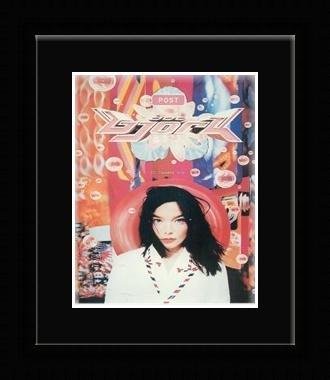 Bjork - Post Framed Mini Poster