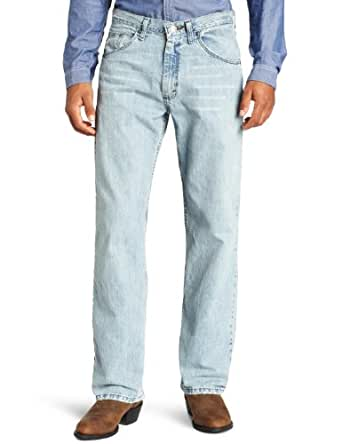 Wrangler Men's 33 Extreme 20X Collection Relaxed Fit Straight Leg Jean, Blue Frost, 27x34