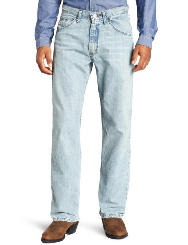 36 Collection American (Wrangler Men's 33 Extreme 20X Collection Relaxed Fit Straight Leg Jean, Blue Frost, 36x30)
