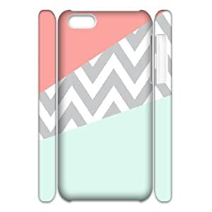 Coral Chevron 3D-Printed ZLB551127 Brand New 3D Phone Case for Iphone 5C