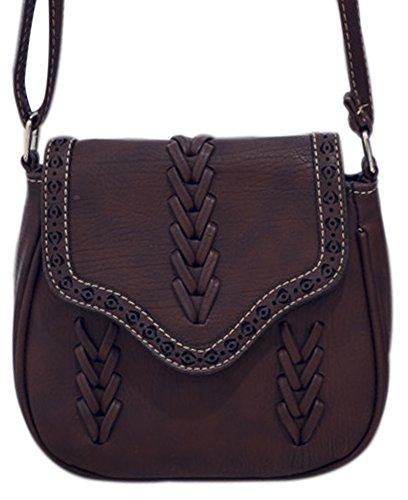 Crochet Messenger Bag Strap - 4