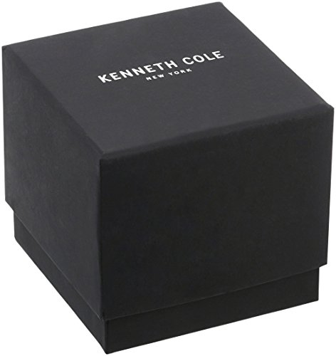 Kenneth Cole New York Women's Quartz Stainless Steel and Leather Casual Watch
