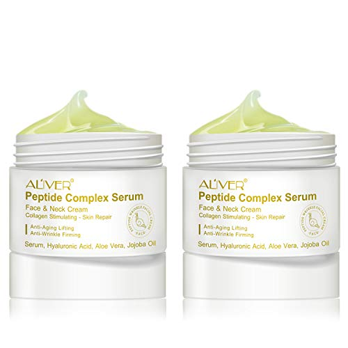 41t9r3DiUjL - Peptide Wrinkle Cream,Anti-Wrinkle Cream,Anti aging serum,Collagen Peptides For Skin and Neck Moisturizer Cream Firming,Fights the Appearance of Wrinkles, Fine Lines,Best Day and Night