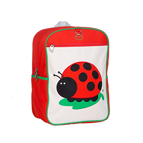 Beatrix New York Big Kid Pack, Juju (Ladybug), One Size, Red