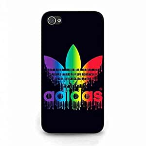 Adidas Logo Sports Brand Collection Funda Case for iPhone 4/iPhone 4S Adidas Logo Sports Brand Trendy Cover