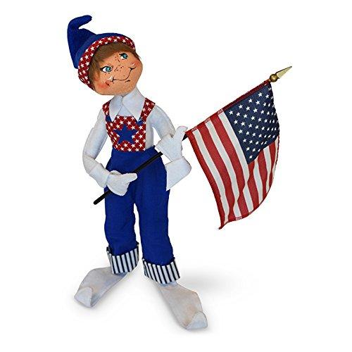 Annalee - 14in Patriotic Elf