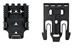 Safariland Quick Locking System Qls Platform Kit 1 Male & 1 Female Quick Release Kit Black