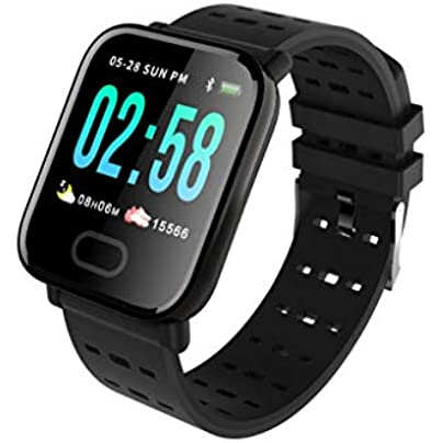 HFXLH Smart Band Blood Pressure Smart Bracelet Heart Rate Monitor Sport Fitness Tracker IP67 Waterproof Smart Wristband Watch Estimated Price £30.56 -