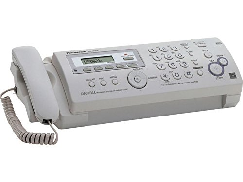 Compact Plain Paper Fax/copier with Answering System by Panasonic
