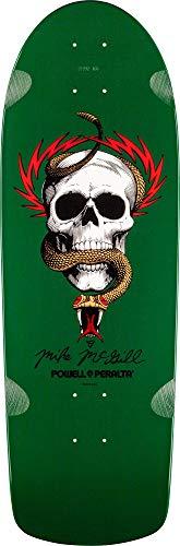 Powell-Peralta O.G. McGill Skull & Snake Green Skateboard Deck (Top Ten Best Skateboard Decks)