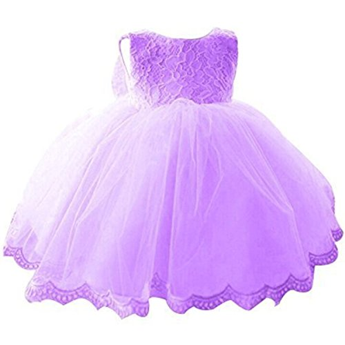 nnjxd girls u0026 39  tulle flower princess wedding dress for toddler and baby girl purple 12