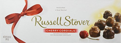 Russell Stover Cherry Cordials Box, 9.25 Ounce