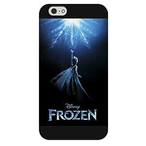 "Elsa Anna Olaf Black Hard Case For iPhone 6 Plus 5.5"",Disney Elsa Anna Olaf WANGJING JINDA"