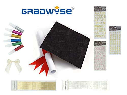 GradWYSE Graduation Cap Decorations DIY Kit Graduation Gifts -