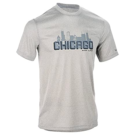 92a580dae882 Buy Tarmak Fast Chicago Intermediate Basketball T-Shirt - Grey ...