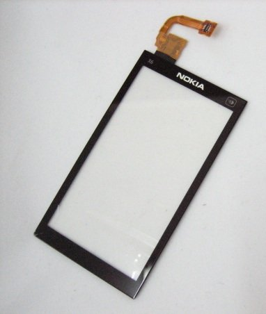 Touch Screen Digitizer Front Glass Lens Part for Nokia X6 X