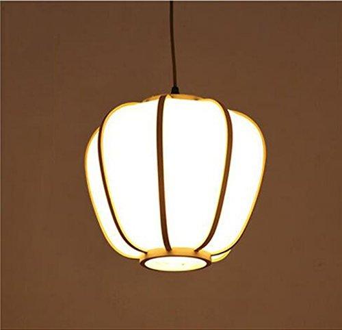 Eeayyygch Japanische Kronleuchter, Restaurant Lichter, Moderne chinesische Bambus Kunst Lichter, Korridore Gang Balkon Lichter, Tee Kronleuchter (Größe  43  26cm) (Farbe   27  25cm, Größe   -)