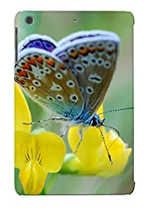[FyOPNFR2462quQAt] - New Nature Insects Yellow Flowers Butterflies Protective Ipad Mini/mini 2 Classic Hardshell Case