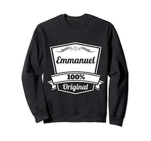 Emmanuel Gift / Emmanuel Personalized Name Birthday Sweatshirt