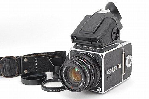 Hasselblad (ハッセルブラッド) 500C/M + PME プリズムファインダー + 80mm F2.8 レンズ 付   B077SQSFDQ