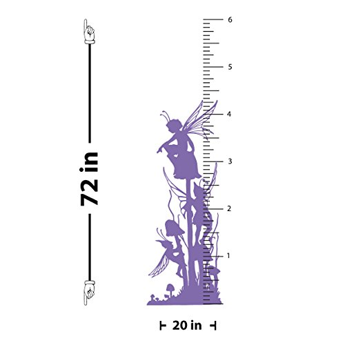 Fairy Growth Chart Wall Decal ()