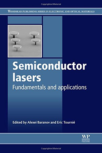 Semiconductor Lasers: Fundamentals and Applications (Woodhead Publishing Series in Electronic and Optical Materials)
