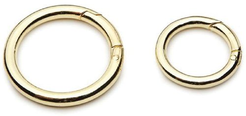 UPC 082676170614, Accessory Loops Clasps-Gold Circle 2/Pkg