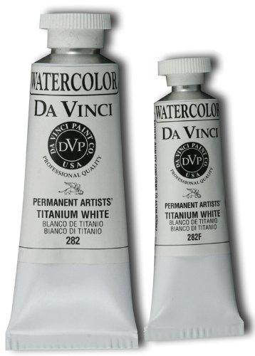 (Da Vinci DAV282F 15ml Watercolor Paint - Titanium White)
