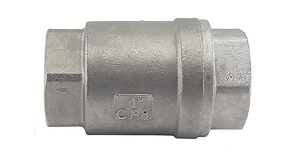 Amazon.com: Duda Energía vcv-wog1000-f100 Vertical válvula ...