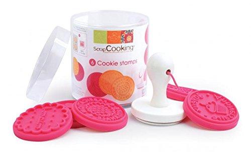 ScrapCooking 5152 Cookie Stamp Kit, Pink by ScrapCooking